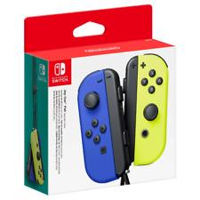 Nintendo Set da Due Joy-Con Controller per Nintendo Switch - Blu e Giallo Neon