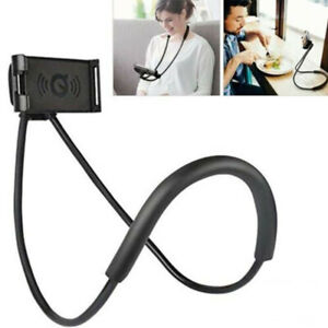 Universal Mobile Neck Hanging Stand Phone Holder Lazy Bracket Support