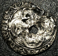 1475-1483 France Silver Blanc Louis XI Rare Medieval French Coin