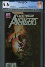 New Avengers 51 CGC 9.6 Bachalo Dormammu Variant Dark Reign Ronin Spider-Man