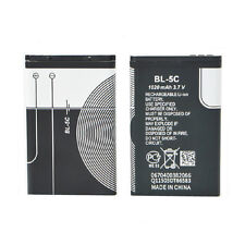 Replacement Li-ion Battery 1020mAh 3.7V for Nokia BL-5C Rechargeable Divine