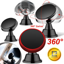 360 Degree Magnetic Car Mount Dashboard Holder For iPhone Cell Phone Universal