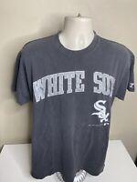 Vintage 1991 Chicago White Sox MLB Short Sleeve T Shirt Men's Size XL Gray