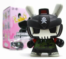 "Kidrobot DTA Designer Toy Awards Dunny Series SRCH DESTROY Quiccs Black 3"" Vinyl"