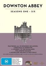 DOWNTON ABBEY SEASON SERIES 1+2+3+4+5+6+genuine oz R 4 DVD Box Set R4