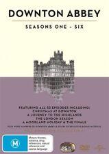 Downton Abbey : Season 1-6 (DVD, 2016, 25-Disc Set)