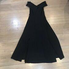 Womens Dessy Creations Dress Formal Occasion Black Size 4 Off Shoulder