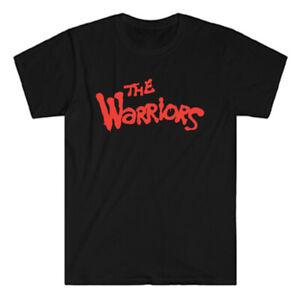 The Warriors Movie Logo Men's Black T-Shirt Size S to 3XL