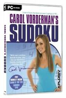 Carol Vorderman's Sudoku (PC: Windows) New Sealed