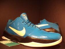2010 Nike Zoom KOBE V 5 MILES DAVIS PHOTO BLUE WHITE BLACK SILVER 386429-400 12