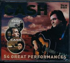 Johnny Cash - 54 Great Performances - Johnny Cash 3cd