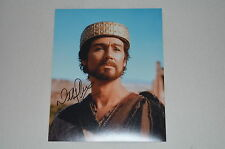 Nathaniel Parker Signed Autograph In Person 20x25 cm David