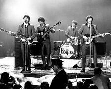 THE BEATLES John Lennon Paul McCartney Harrison & Ringo Starr Glossy 8x10 Photo