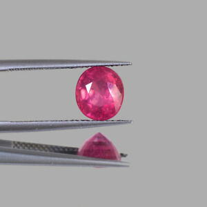 3.50 Cts Natural Ruby Sparkling Red Top Quality Ring Size Magnificent Gemstone