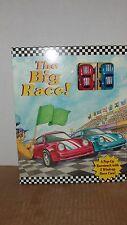 1999 THE BIG RACE - POP UP RACETRACK W/ 2 CARS