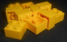 LEGO 2x2 Bricks Yellow---Lot of 10 300324