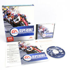 Superbike World Championship for PC CD-ROM in Big Box by EA, 1999, CIB, VGC