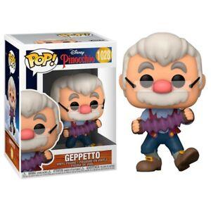Figurine Disney Pinocchio - Geppetto Pop 10cm