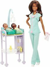 2016 AA BABY DOCTOR Barbie Playset with twin babies - BRAND NEW & NRFB!!