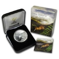 New Zealand - 2007- 1 OZ Silver Proof Coin-  Kiwi Proof Spotted Little Kiwi