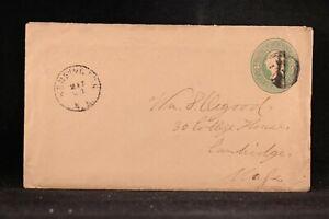 New Hampshire: Kensington 1883 Cover + Long Letter, DPO Rockingham Co