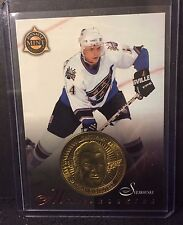 Jaroslav Svejkovský 1997-98 Pinnacle Mint Die-Cut Card w/ Brass Coin Rookie #25