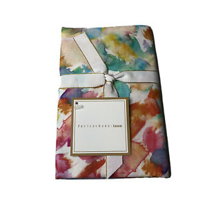 Pottery Barn Teen Floral Splash Organic Cotton Sham Standard Pillow Case New