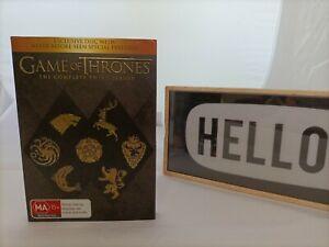 GAME of THRONES 3RD SEASON in Cardboard Sleeve ! Free Postage !!