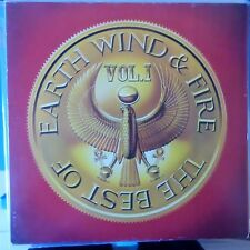 EARTH WIND AND FIRE LP THE BEST OF VOL.1 EUROPE 1978 VG++/VG++ OIS