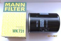 MANN WK 731 FILTER  Dieselfilter / Deutz Kraftstofffilter Vergl. Nr. 01174423