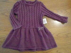 BNWT baby girl soft & warm knitted dress. 0-3 mths. Matalan.   1/7