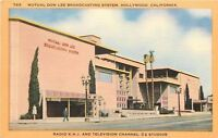 Hollywood CA~Mutual Don Lee Broadcasting System~Radio KHJ~TV2 Studios~1940s