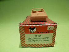 TRON  1:43  ALFA 90  BERLINA 2 VERSIONI   - UNBUILT KIT  -   IN GOOD CONDITION