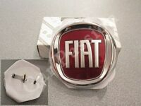 fregio stemma logo FIAT PUNTO EVO ANTERIORE ORIGINALE 85mm FRONT EMBLEM GENUINE