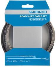 Shimano Schaltzug Set Rennrad / Race OT-SP41 Edelstahl schwarz # NEU & OVP