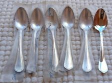 """6 cuillers de table /à soupe Christofle modèle """"Spatours"""" métal argenté"""