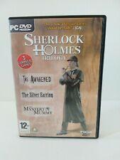 Sherlock Holmes Trilogy PC DVD (2007) 3 Adventure Games Frogwares No Manual