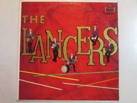 THE LANCERS EARSA 1003-S LP VENTURES SHADOWS STYLE INSTRUMENTAL 60's ROCK RARE!