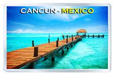 CANCUN MEXICO MOD2 FRIDGE MAGNET SOUVENIR IMAN NEVERA