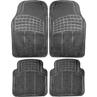Jeep Wrangler Grand Cherokee Patriot  Universal Rubber Car Mats Heavy Duty 4pc