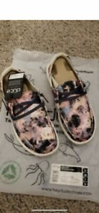 Brand New Hey Dude Wendy Tie Dye Size 7 and 8
