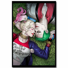 NEW Joker And Harley Quinn Suicide Squad 32x48 in. Canvas Print Art Silk Poster
