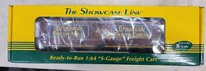 S-Helper/The Showcase Line #00658, Brookside Fresh Milk, NIB S-Gauge, AF (8D)