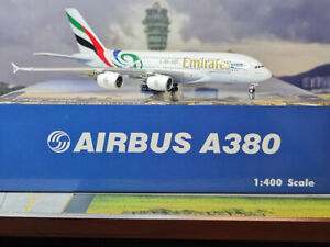 Phoenix Models 1:400 Emirates A380-800 (A6-EDN) Rugby World Cup