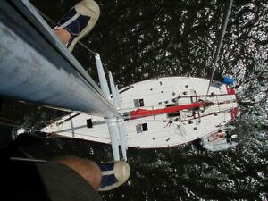 Custom Evelyn 41' sloop sailboat
