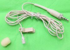 Beige Lapel Lavalier Microphone for Sennheiser XS G1 G2 G3 Wireless Tie Clip Mic