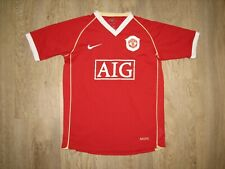 MANCHESTER UNITED 2006-07 HOME SHIRT NIKE JERSEY SOCCER SIZE LBoys 12/13 Age