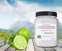 Citric Acid 3.5lb 100% Pure Premium Food Grade NON GMO Anhydrous Grade A JAR