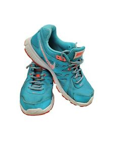 Nike Revolution 2 Clearwater Blue Running Training Shoes 554900-411 Women's Sz 9