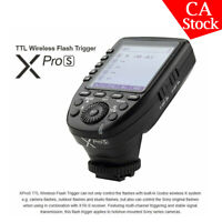 Godox Xpro-S 2.4G TTL LCD Wireless Transmitter Trigger For Sony A7RIII A7SII A7S